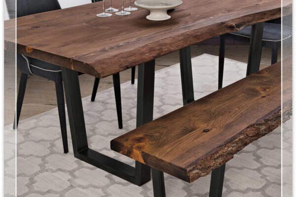 MAKING A LIVE EDGE TABLE IS EASY WITH WOODCRAFT'S NEW PRODUCT LINE